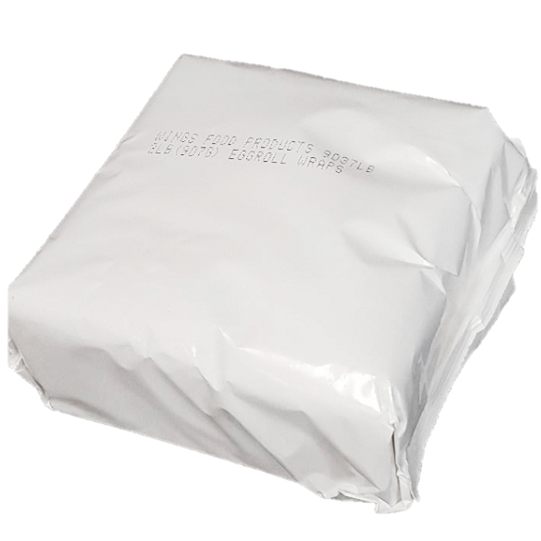 White packaged pack of wrappers
